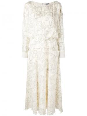 Платье Neskone Essentiel Antwerp. Цвет: телесный