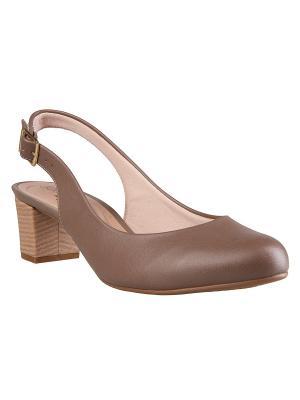 Туфли BEIRA RIO. Цвет: коричневый