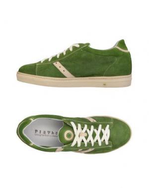 Низкие кеды и кроссовки PLAYHAT. Цвет: зеленый