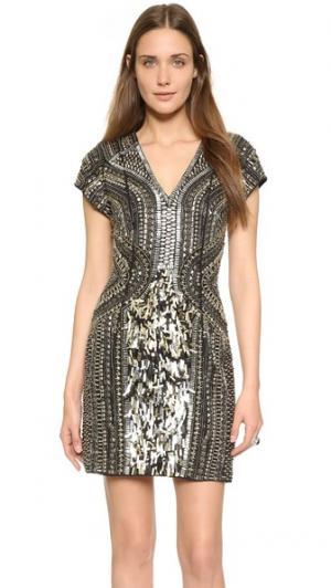 Платье  Black Serena Parker. Цвет: голубой