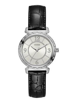 Часы GUESS. Цвет: черный, серебристый
