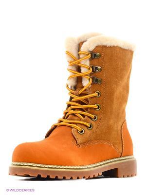 Ботинки Covani. Цвет: рыжий