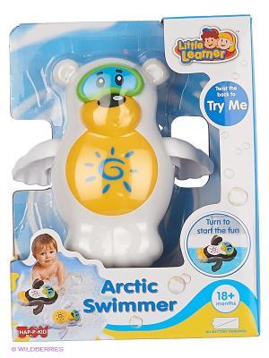 Игрушка для купания Северный медведь Hap-P-Kid. Цвет: белый, желтый