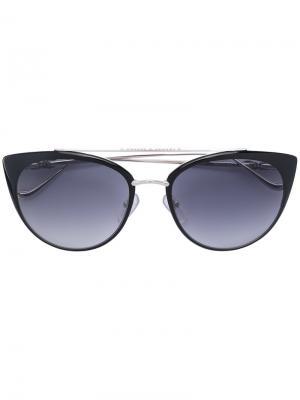 Cat eye sunglasses Chrome Hearts. Цвет: металлический