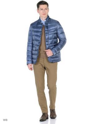 Куртка Herno. Цвет: голубой