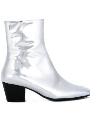 Ботинки Droop Nose Dorateymur. Цвет: металлический