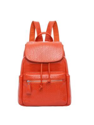 Рюкзак Ors Oro. Цвет: оранжевый