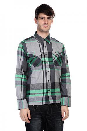 Рубашка в клетку  Dwight Kelly Green Innes. Цвет: серый
