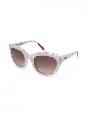 Солнцезащитные очки MI 789S 02 Missoni. Цвет: белый