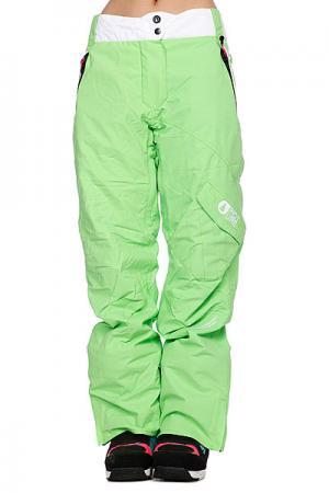 Штаны сноубордические женские  Leader 2 Pant Green Picture Organic. Цвет: зеленый