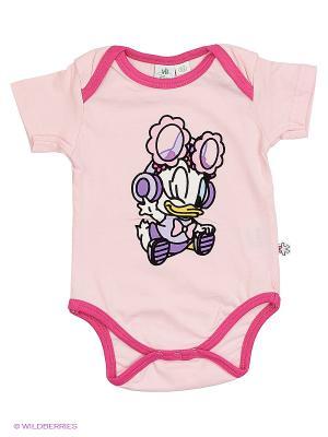 Боди с коротким рукавом Modis. Цвет: бледно-розовый, розовый, персиковый, белый