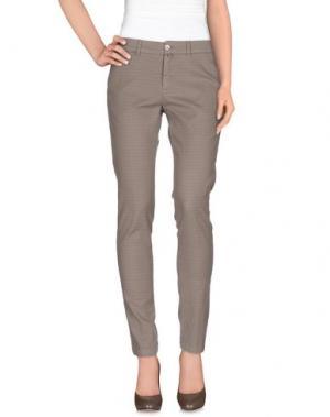 Повседневные брюки KUBERA 108. Цвет: голубиный серый