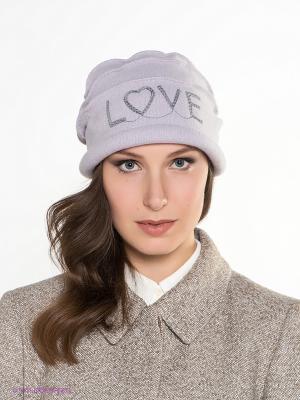 Шляпа SEEBERGER. Цвет: светло-серый