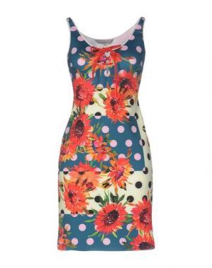 Короткое платье CLOVER CANYON. Цвет: темно-зеленый