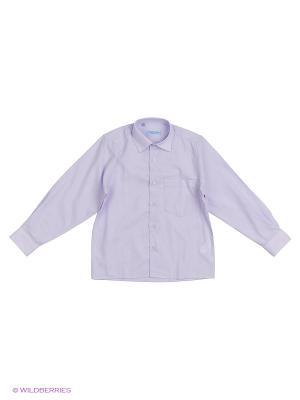 Рубашка Fortunato. Цвет: сиреневый