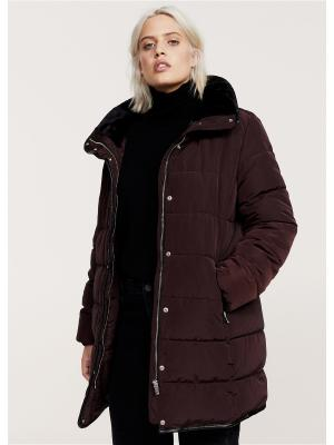 Куртка Violeta by Mango. Цвет: темно-красный