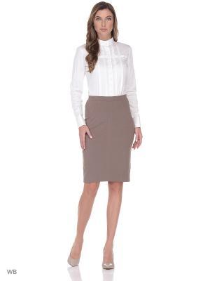 Блузка-боди манжет под запонки WHITE CUFF. Цвет: белый
