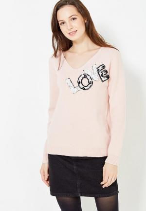 Пуловер Care of You. Цвет: розовый