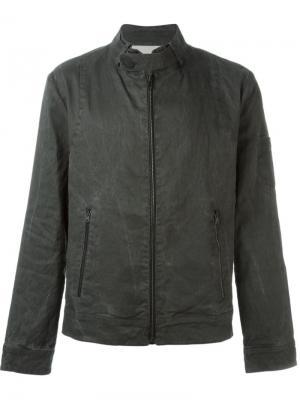 Куртка на молнии Isabel Benenato. Цвет: серый