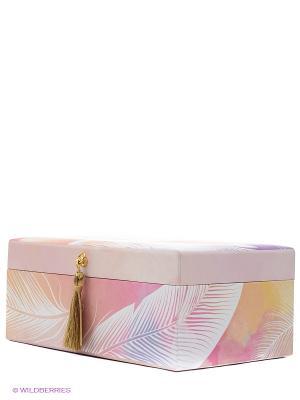 Шкатулка для бижутерии Мизуйо Kimmidoll. Цвет: розовый