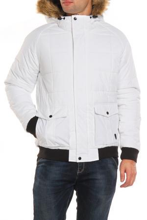 Куртка SOULSTAR. Цвет: белый