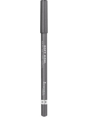 Контурный карандаш для глаз rimmel soft kohl kajal, тон 064. Цвет: серый
