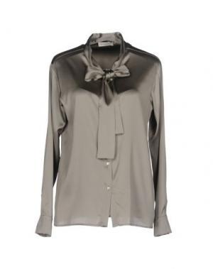 Pубашка BRUNO MANETTI. Цвет: светло-серый