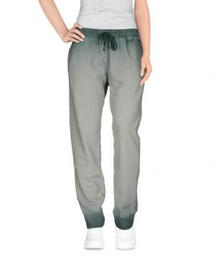 Повседневные брюки RA-RE. Цвет: светло-зеленый