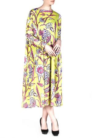 Платье Exline. Цвет: multicolor