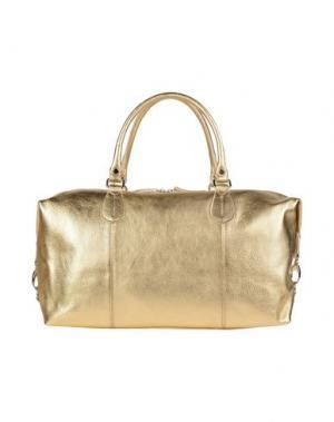 Дорожная сумка DOUCAL'S. Цвет: золотистый