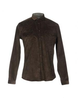 Pубашка GUYA G.. Цвет: коричневый