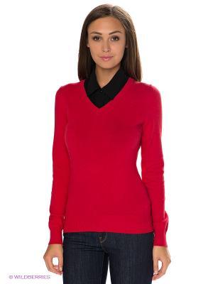 Пуловер Baon. Цвет: красный