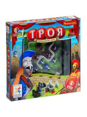 Логическая игра Bondibon  Троя, арт. SG 280 RU. Цвет: салатовый, серый