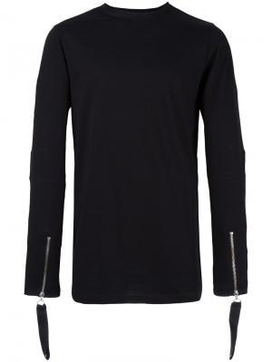 Thompson Flight long sleeved T-shirt Matthew Miller. Цвет: чёрный