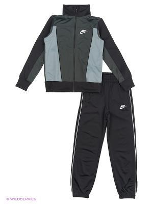 Спортивный костюм B NSW TRK SUIT PAC POLY Nike. Цвет: антрацитовый, серый
