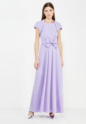 Комплект болеро и платье be in.... Цвет: фиолетовый