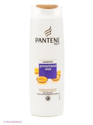 Шампунь, дополнительный объем, для тонких волос PANTENE. Цвет: бежевый