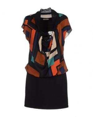 Короткое платье SOOZ by ISABEL C.. Цвет: коричневый