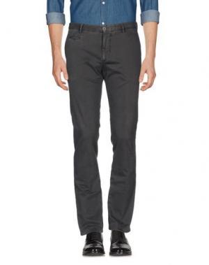 Повседневные брюки ALTEA dal 1973. Цвет: свинцово-серый