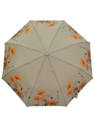 Зонт H.DUE.O. Цвет: бежевый, оранжевый