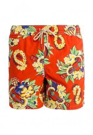 Шорты для плавания Polo Ralph Lauren. Цвет: красный