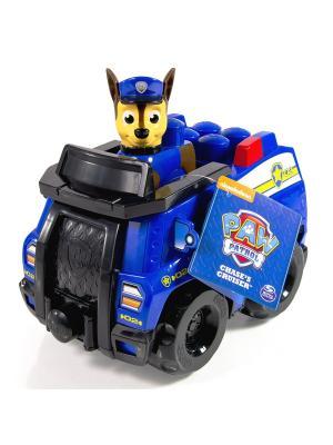 Конструктор Paw Patrol, Полицейский патруль SPIN MASTER. Цвет: синий