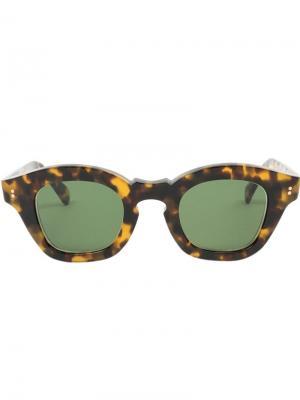 Солнцезащитные очки Glamproto Hakusan. Цвет: коричневый