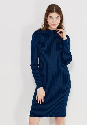 Платье Calvin Klein Jeans. Цвет: синий