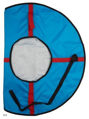 Санки надувные Ватрушка Метиз. Цвет: черный, белый, голубой