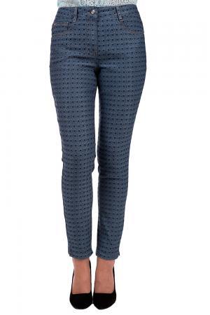Модные джинсы Basler. Цвет: чёрный