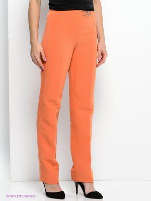 Брюки Devur. Цвет: оранжевый