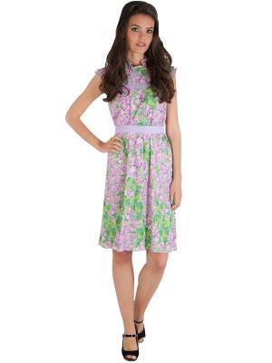 Платье Ksenia Knyazeva. Цвет: сиреневый