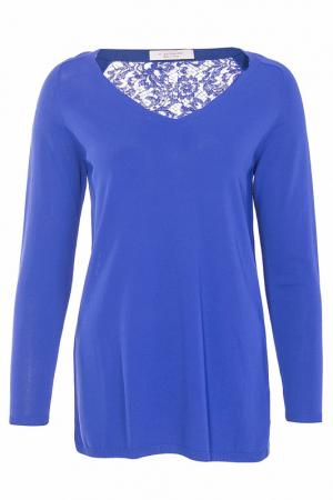 Блуза D.Exterior. Цвет: синий