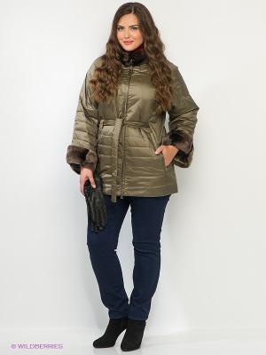 Куртка Sinta Via. Цвет: коричневый